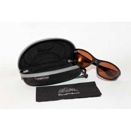 Dragon Eyes - Polarisationsbrille Braun